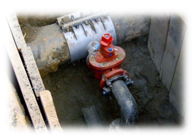 Broken water main repair nyc